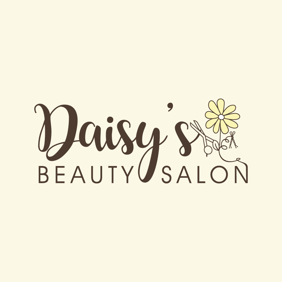 Daisy Salon Logo Design