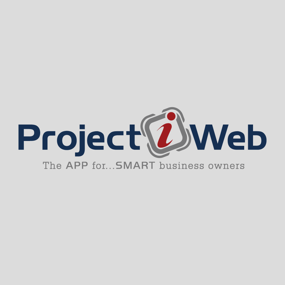 ProjectiWeb Logo Design