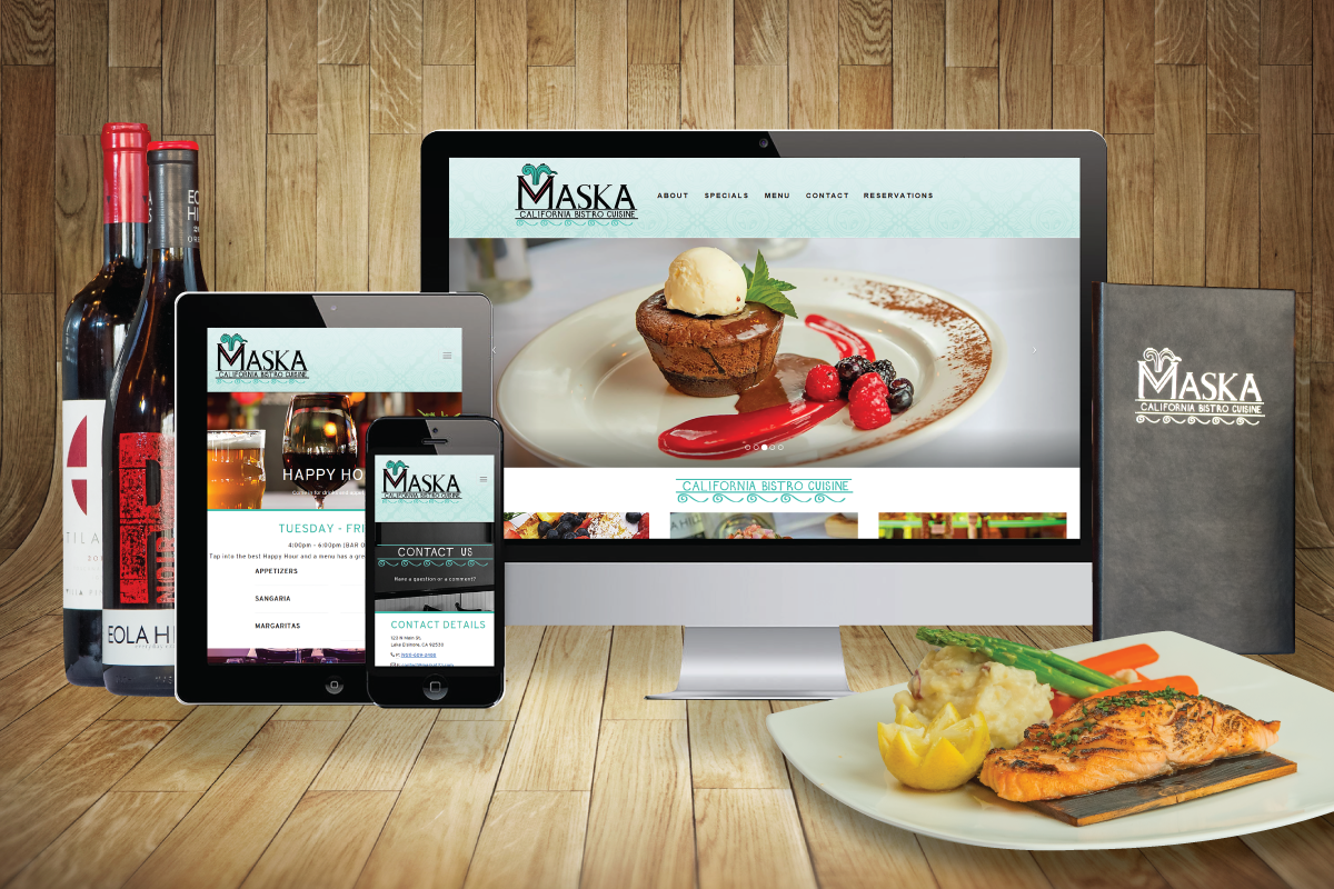Maska Restaurant Website